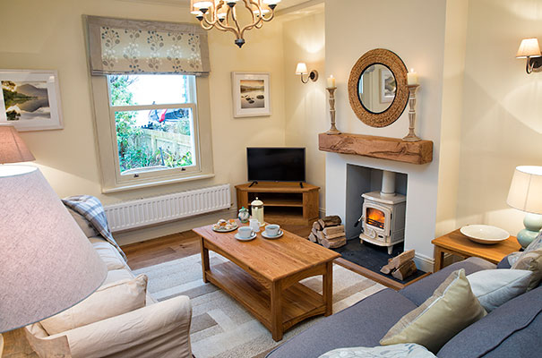 Plum Tree Cottage, Keswick - Living Room