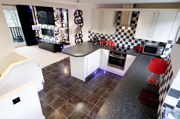 The Hideout - Luxury Holiday Apartment, Bowness - Kitchen