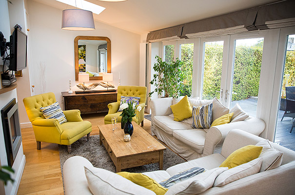 The Headlands, Keswick - Open plan living area